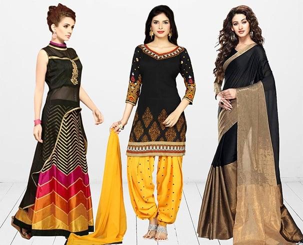 Makar Sankranti Black Clothes