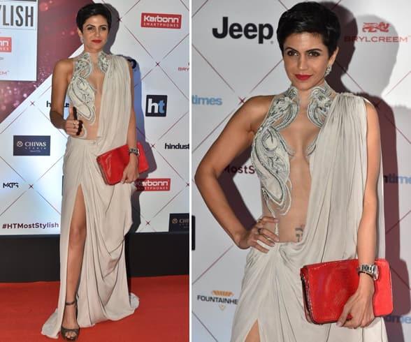 Mandira Bedi at HT Most Stylish Awards 2018