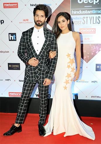 Mira Rajput at HT Most Stylish Awards 2018