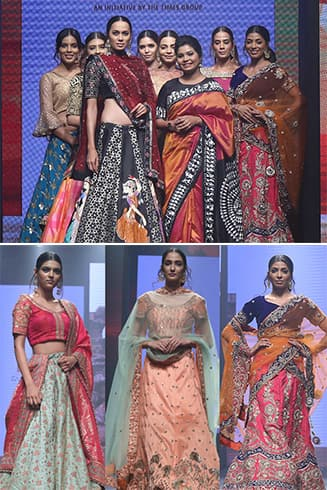 Nikita Nayak Dream Diamond Delhi Times Fashion Week 2018