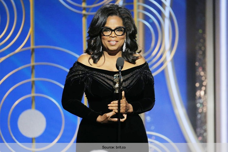 Oprah Winfrey Speech At Golden Globes 2018