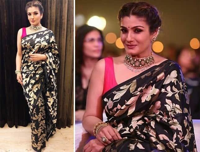 Raveena Tandon in Sunaina Khera