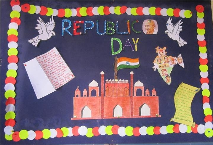 Republic Day Board Decoration