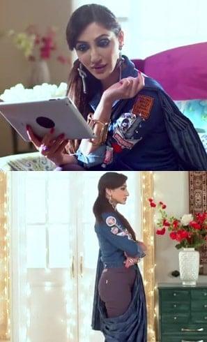 Reyhna Malhotra in Saree
