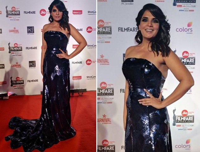 Richa Chadda at Jio Filmfare Awards 2018