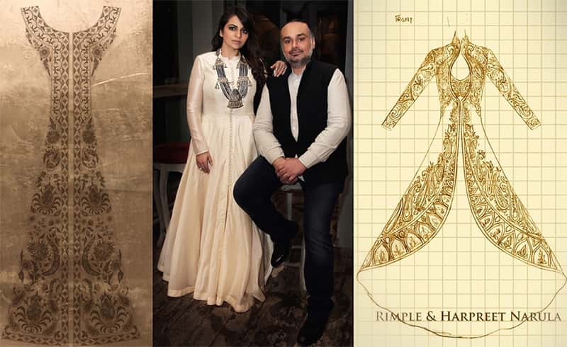 Rimple and Harpreet Narula Sketches