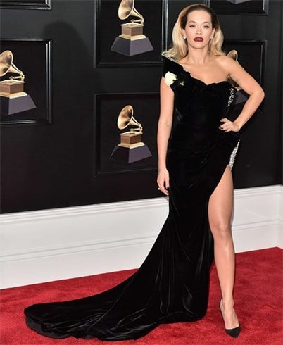 Rita Ora at Grammys 2018