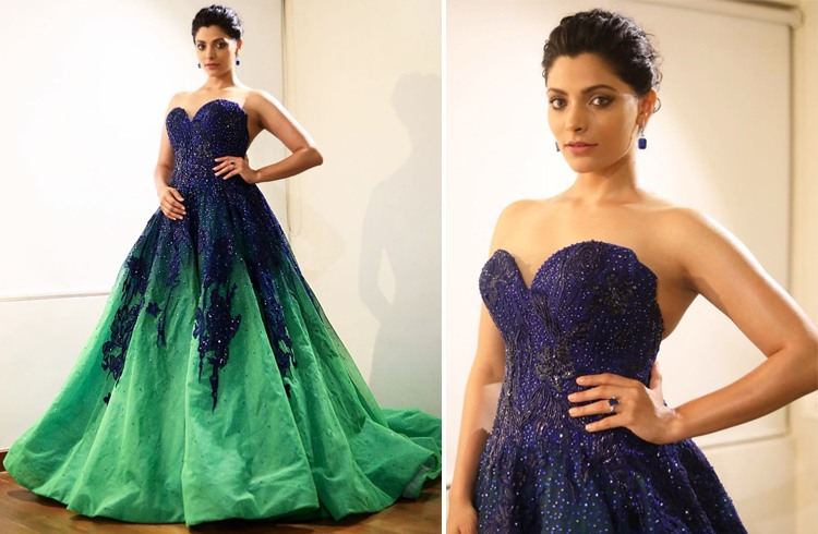 Saiyami Kher at Jio Filmfare Awards 2018