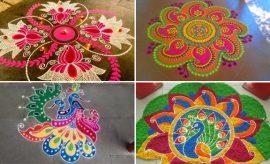 Sankranthi With Kolam Designs