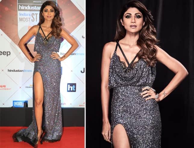 Shilpa Shetty at HT Most Stylish Awards 2018
