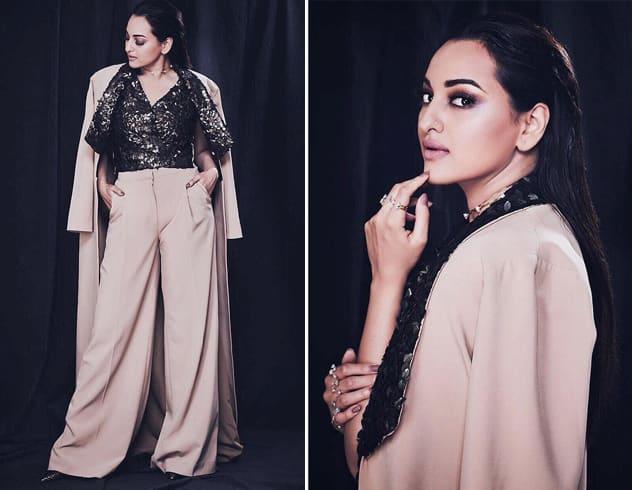 Sonakshi Sinha at HT Most Stylish Awards 2018