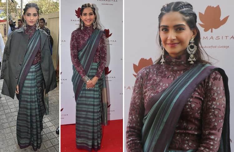 Sonam Kapoor in Anavila sari