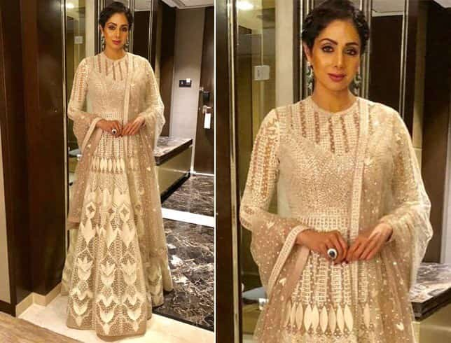 Sridevi Kapoor in Falguni and Shane Peacock