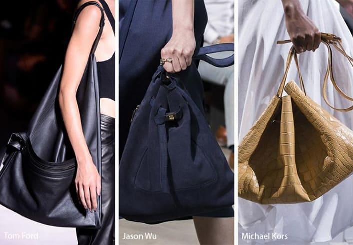 Triangular Hobo Bags