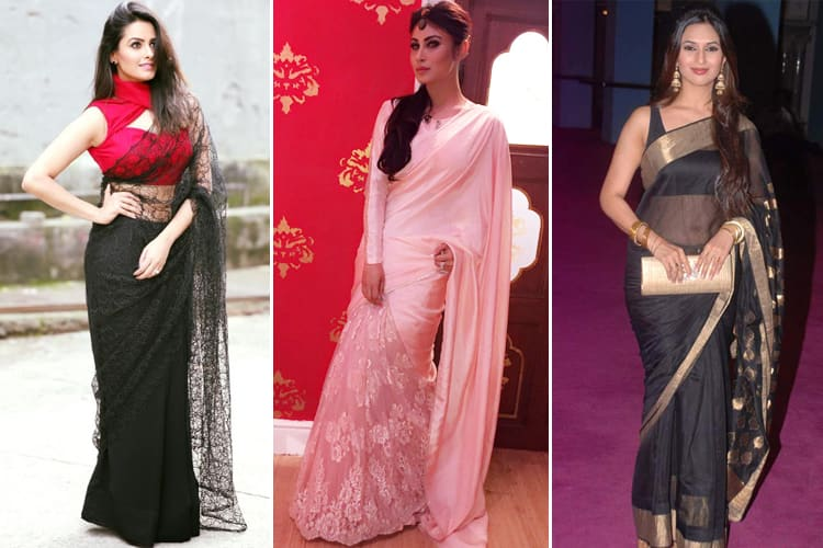 TV Actresses To Follow For Saree Fashion