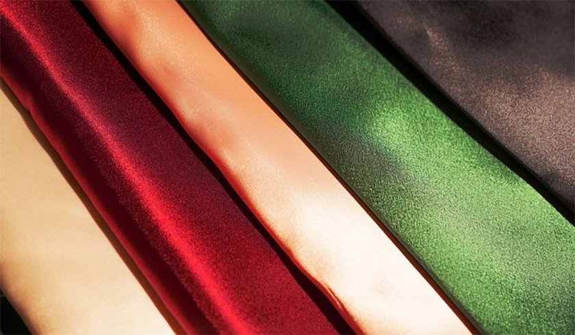 Types Of Silk Fabric