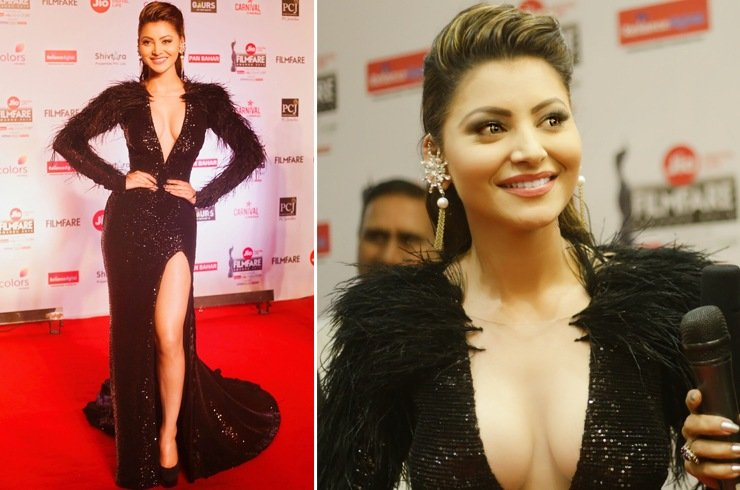 Urvashi Rautela at Jio Filmfare Awards 2018