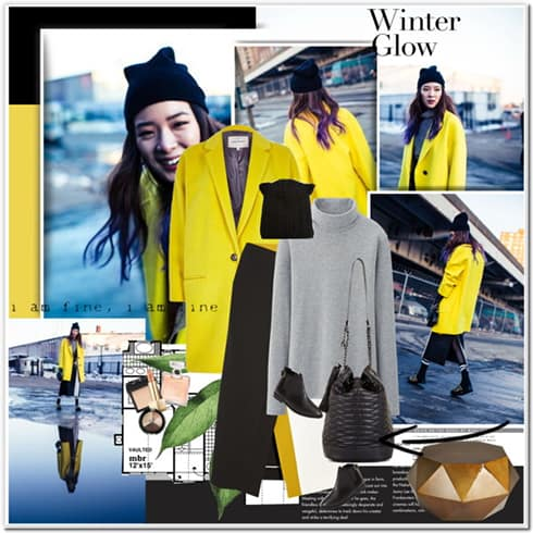 Yellow Coat Womens