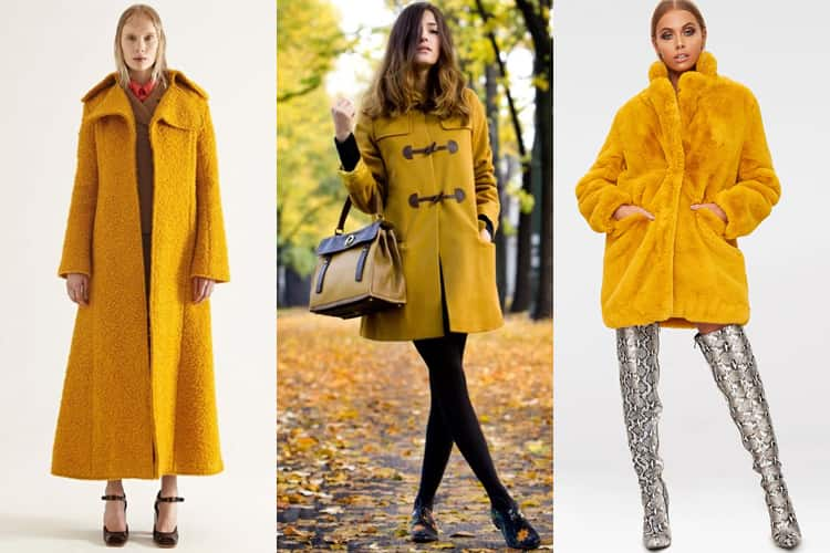 Yellow Coats And Jacket Trends For 2018