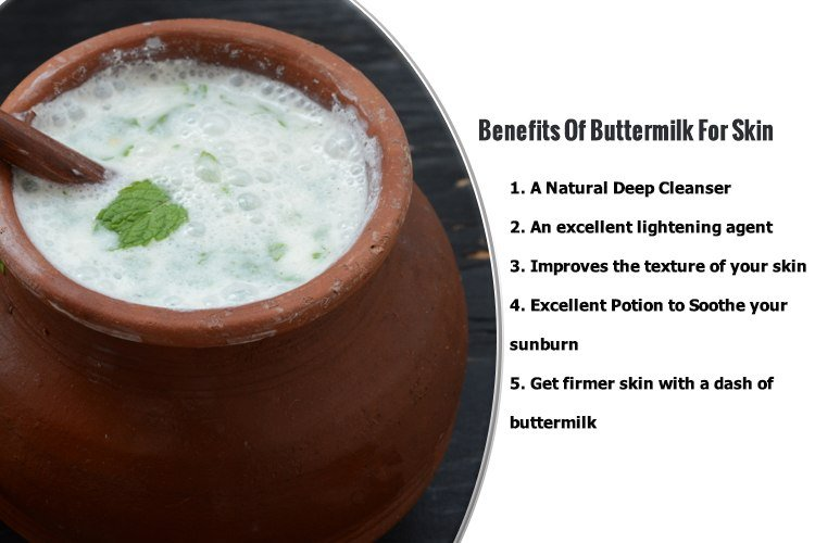 Amazing Benefits Of Buttermilk For Skin