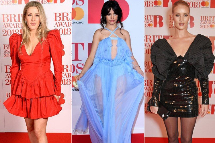Best Dressed Celebs At Red Carpet Of Brit Awards