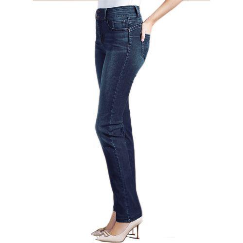 Blue High Waist Enhancer Slim Fit Jeans