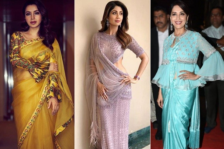 Bollywood Trendy Sari Styles