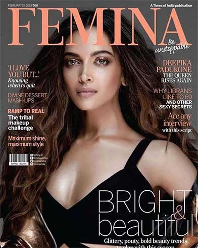 Deepika Padukone on Femina