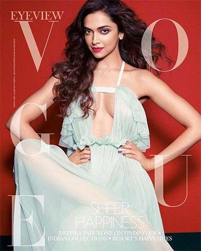 Deepika Padukone on Vogue Photoshoot