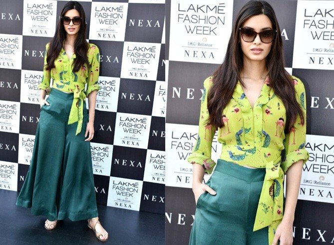 Diana Penty LFW Collections Day4