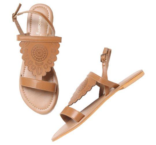 Dressberry Tan Sandals