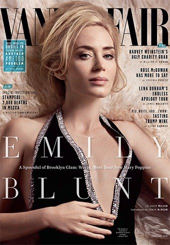 Emily Blunt for Vanity Fair US