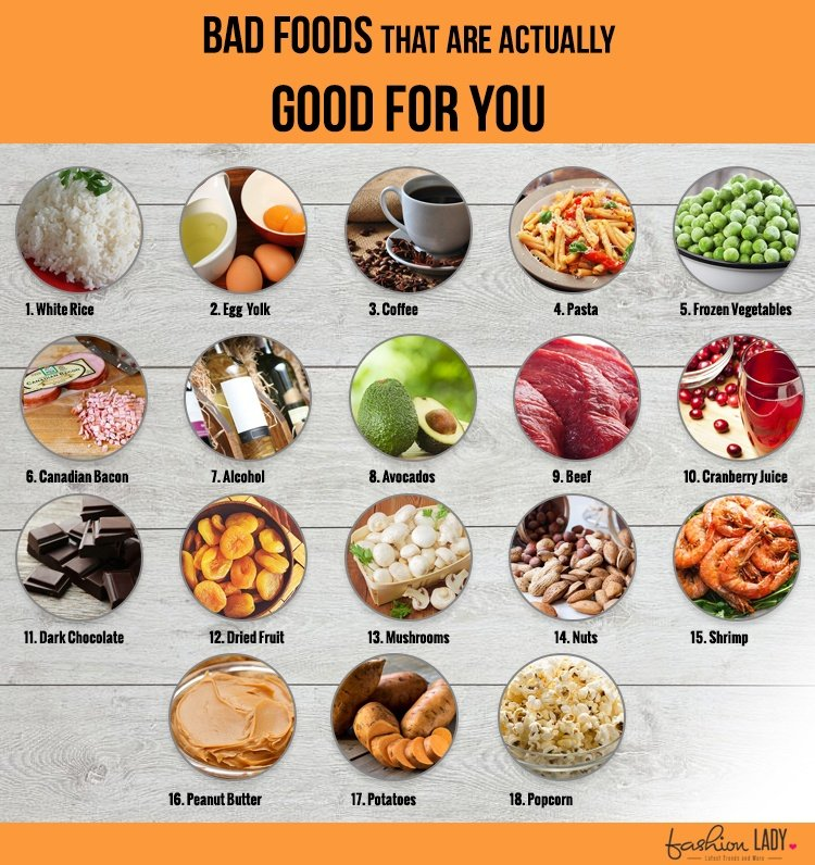 Foods That Are Surprisingly Good For You