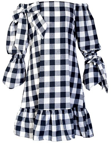 Gingham Clothes For Shopping