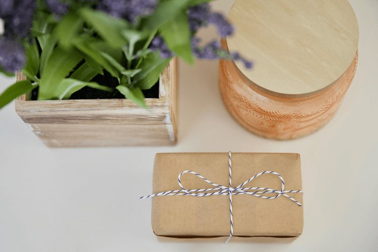Gift Wrapping With A Paper Bag