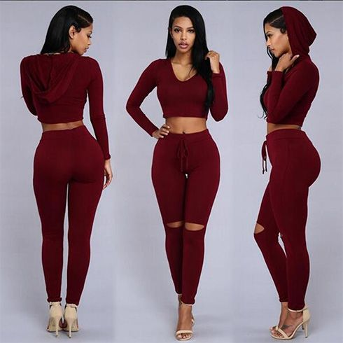 Girls Cutout Leggings