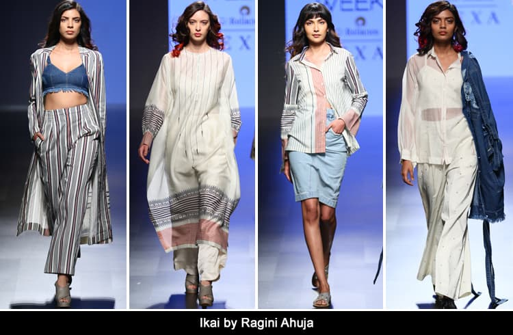 Ikai by Ragini Ahuja at LFW summer resort 2018