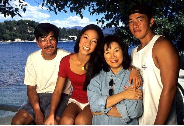 Michelle Kwan Family