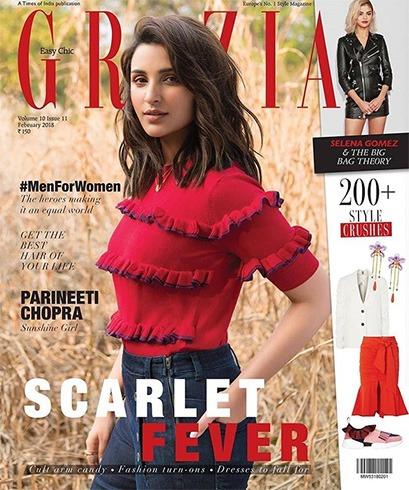 Parineeti Chopra on Grazia