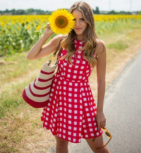 Pretty Red In Gingham
