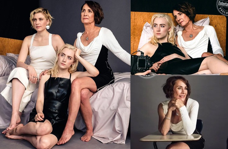 Saoirse Ronan, Greta Gerwig and Laurie Metcalf Photoshoots