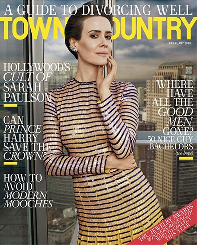 Sarah Paulson for Town & Country