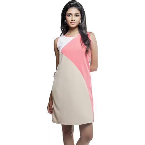 Sassy Stripes Women's A-line Multicolor Dress