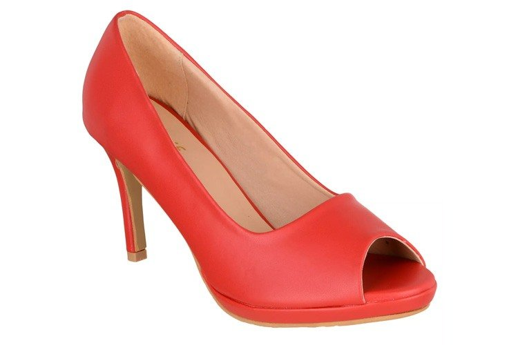 Sherrif Shoes Red Stiletto Heels