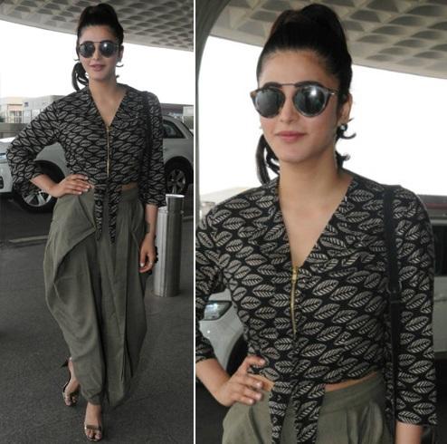 Shruti Haasan Airport Styles