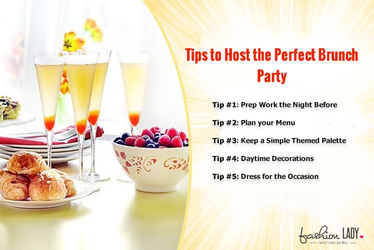 Tips to Host the Perfect Brunch Party
