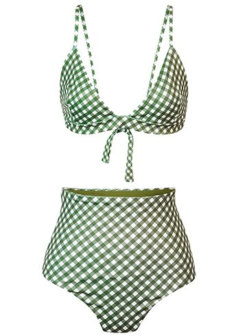 Gingham Beach Clothes