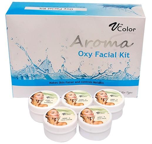 V-Color Aroma Oxygen Facial Kit