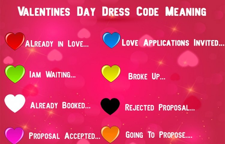 Decoding The Love Status With The Valentine S Day Dress Code 2018