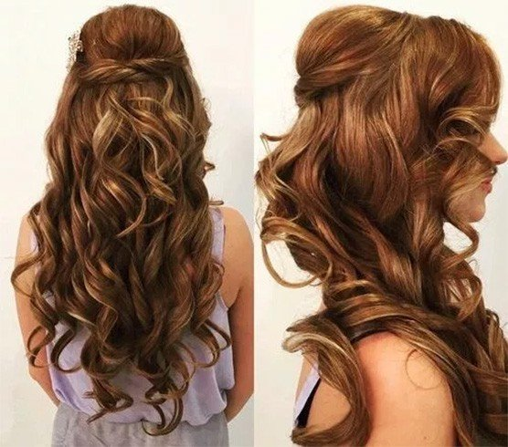 Hairstyles Half: 25 Easy Half Up Half Down Hairstyles Collection